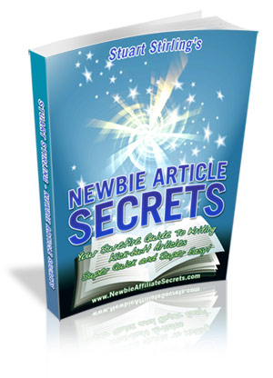 Newbie Article Secrets - Your all in one Article Writing Toolbox!