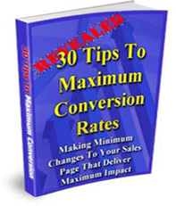 30 Tips for Maximum Conversion