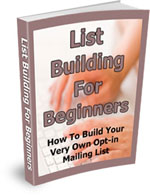 Listbuilding for Beginners