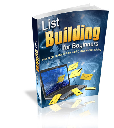 Re-Brandable Viral List Building For Beginners Ebook